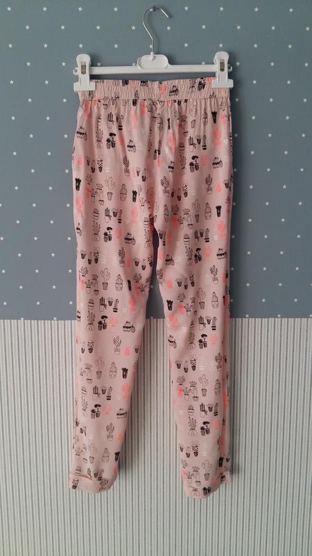 Легкие штаны/брюки lulu castagnette (франция) на 9-10 лет (раз... - Фото 3