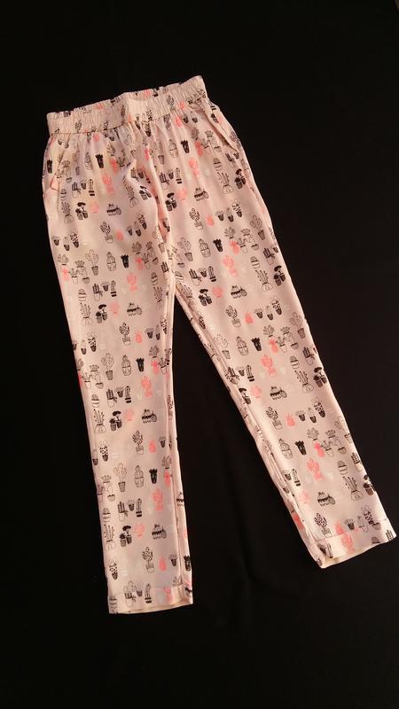 Легкие штаны/брюки lulu castagnette (франция) на 9-10 лет (раз... - Фото 5