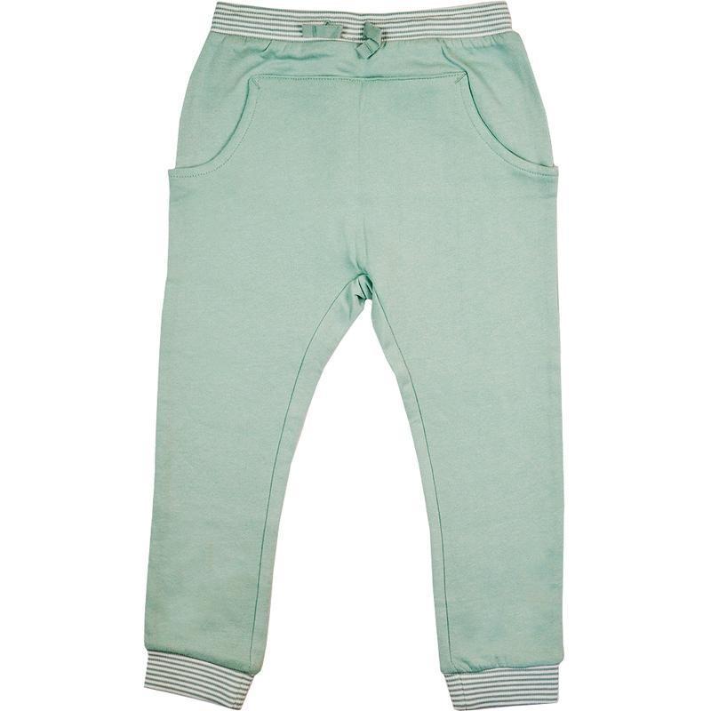 Теплые спортивные штаны на девочку h&m 104см, 3-4г мятного цвета