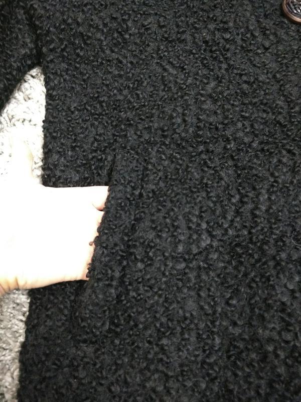 Актуальное пальто каракуль шерсть германия - Фото 2