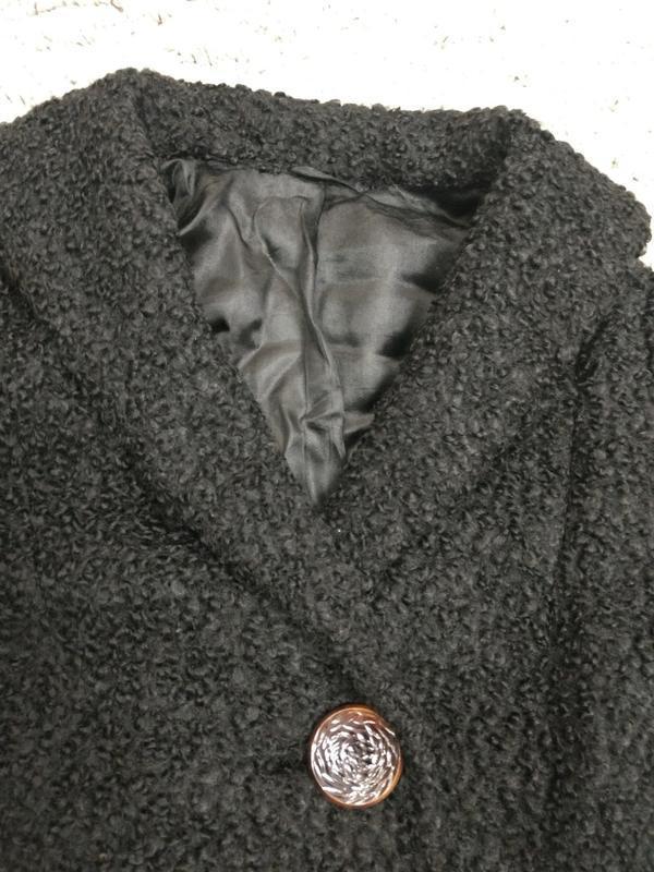 Актуальное пальто каракуль шерсть германия - Фото 4