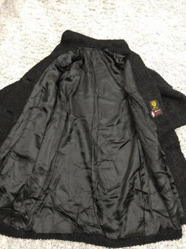 Актуальное пальто каракуль шерсть германия - Фото 5