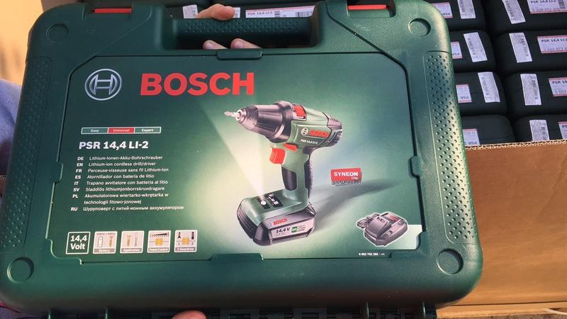 Аккумуляторная дрель-шуруповерт Bosch PSR 14.4 LI-2 Новый!