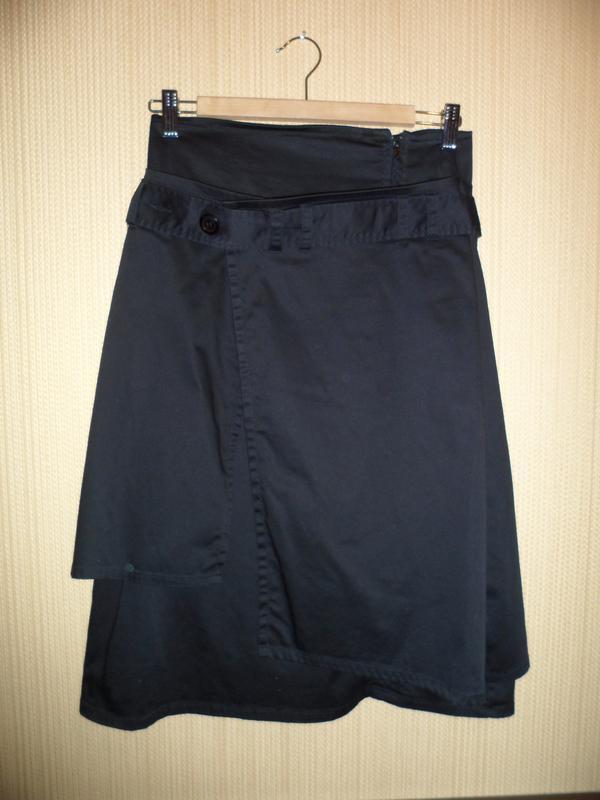 """Стильная и оригинальная многослойная юбка миди """"с фартуком"""" ин..."""