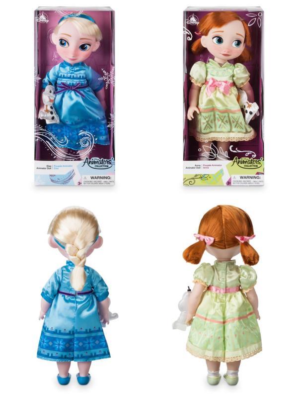 Кукла Аниматор Дисней Эльза Анна Холодное сердце Disney