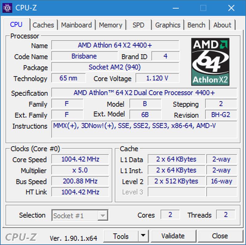 AMD Athlon 64 X2 4400+ - Фото 3