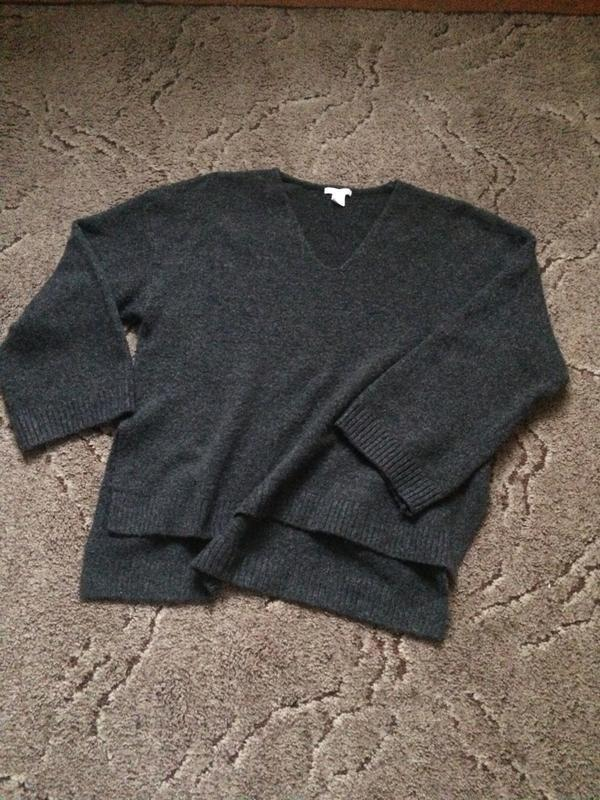 Кофта оверсайз светр свитер
