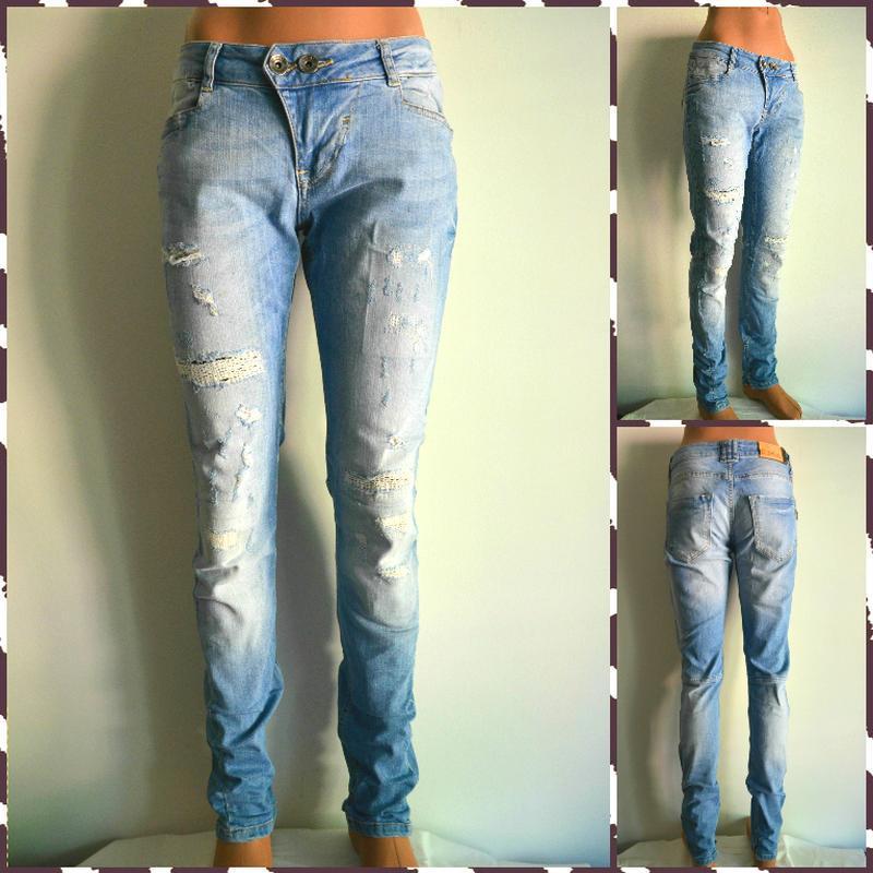 Zhrill ® светлые джинсы  размер м
