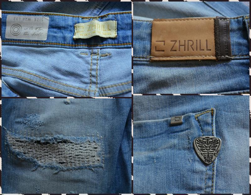Zhrill ® светлые джинсы  размер м - Фото 2