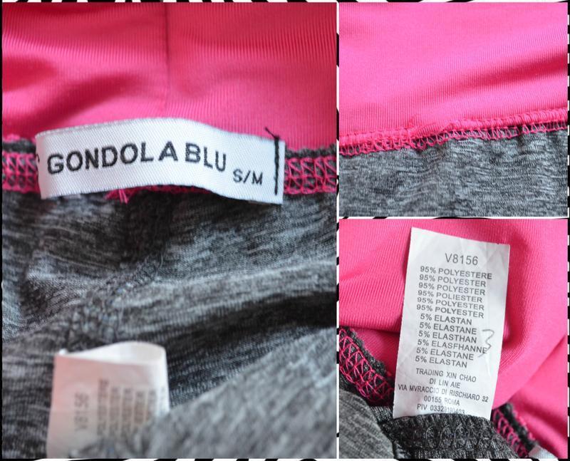Gondola ® спортивные бриджи для бега и фитнеса размер: s - m - Фото 2
