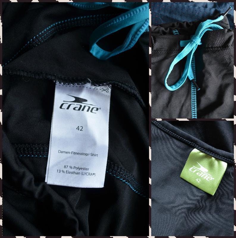 Crane ® спортивная майка(снизу стягивается) размер l-xl - Фото 2