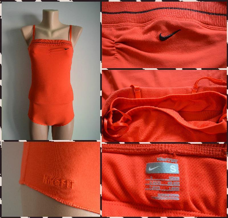 Nike ® fit dry  женский спортивный комбидресс - Фото 2