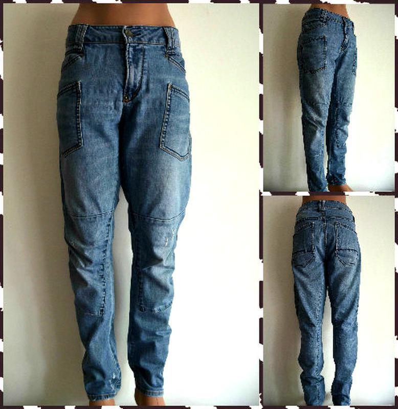 Garcia итальянские джинсы бойфренды  размер l-xl