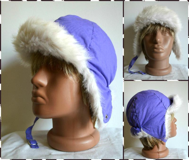 Hufa ® детская теплая шапка-ушанка размер 53