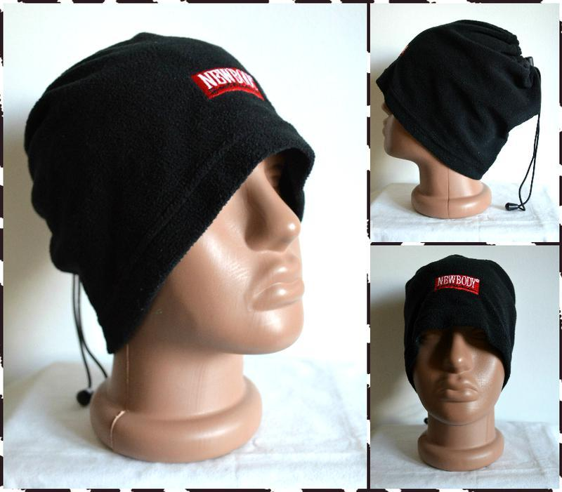 Newbody ® снуд/шарф/шапка/горловик (2 in 1) размер: one size - Фото 2