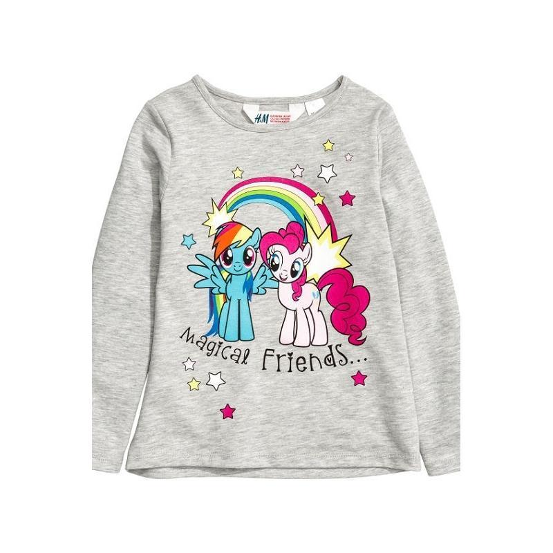 H&m  my little pony детская кофта, джемпер, свитшот, принт май...