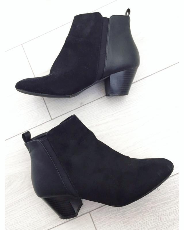 Ботинки, ботінки, чобітки, ботинки на толстом каблуке.