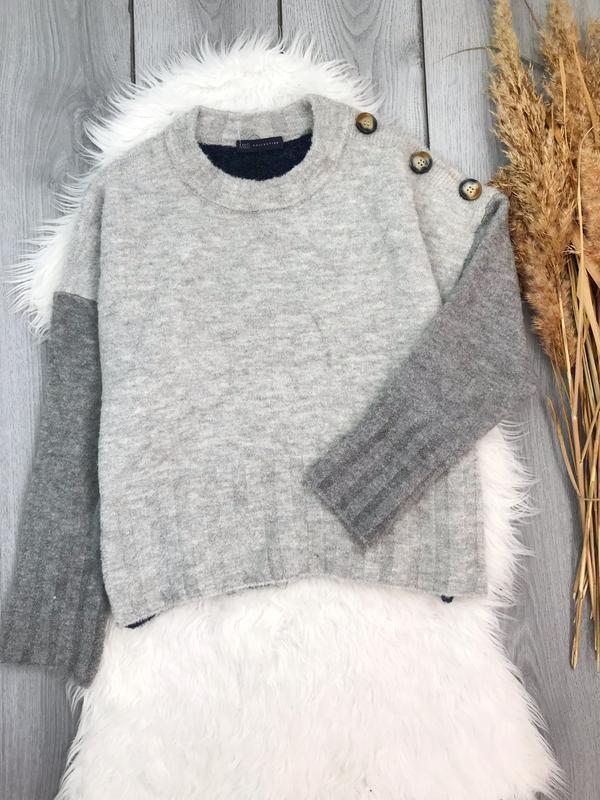 Marks & spencer новый свитер тёплый стильный xl