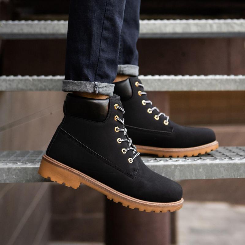 Шикарные мужские зимние ботинки ❄️ (на меху/ без бренда)
