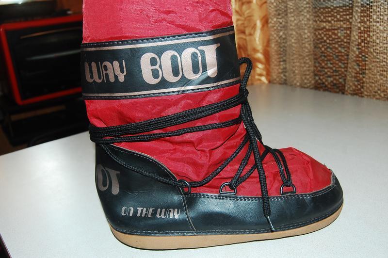 Зимние сноубутсы луноходы  boot 39 размер