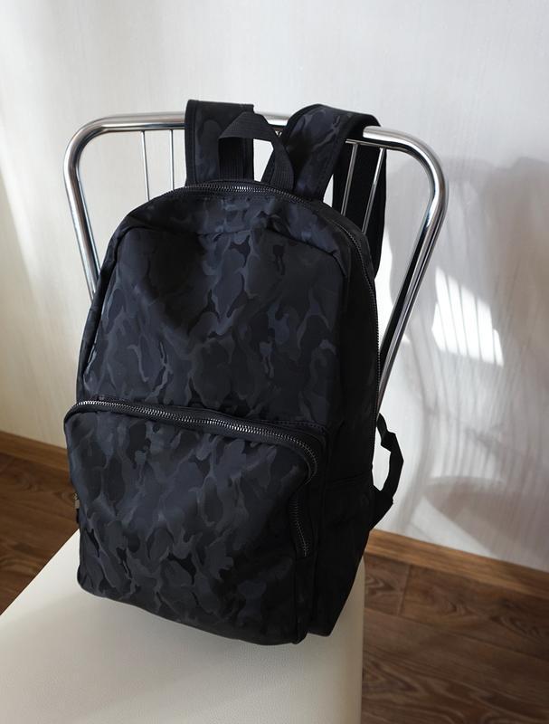 Рюкзак черный для школы твердая спинка