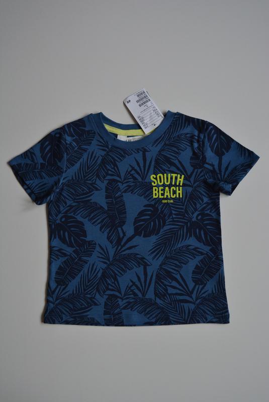 Красивая футболка для мальчика, h&m