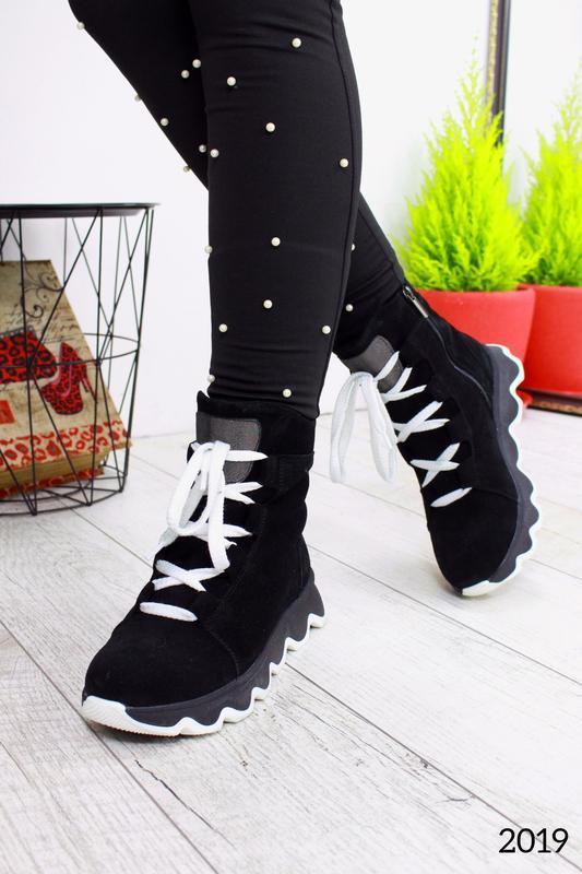 """Ботинки """" houp_замш """""""