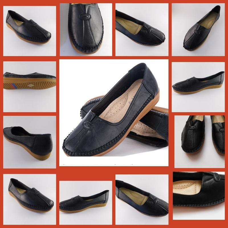 Туфли - мокасины женские  эко-кожа