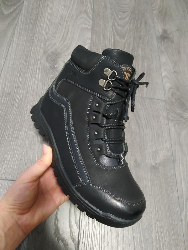 Зимние ботинки на меху для мальчиков