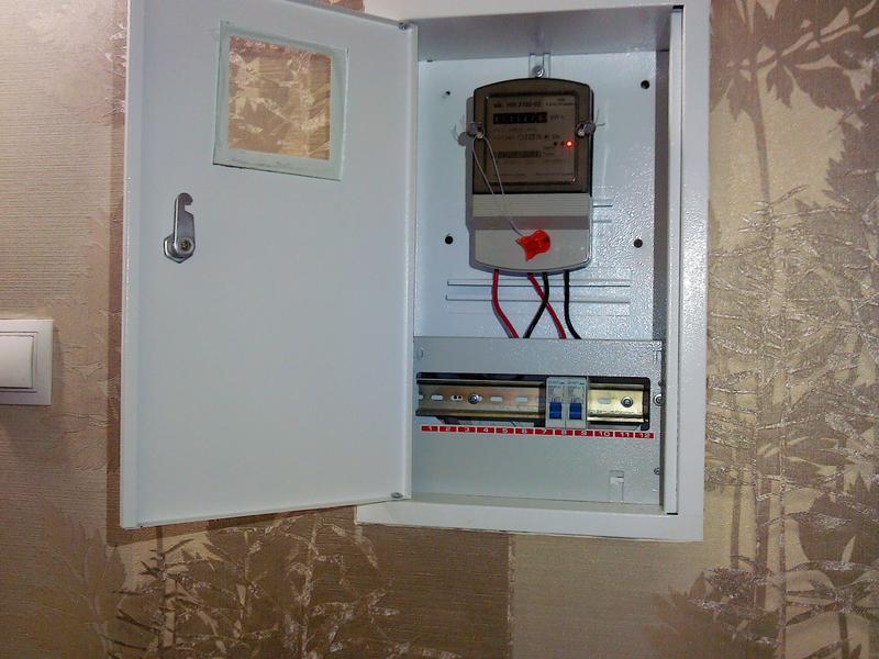 Услуги электрика: установка, перенос, замена электросчётчика....