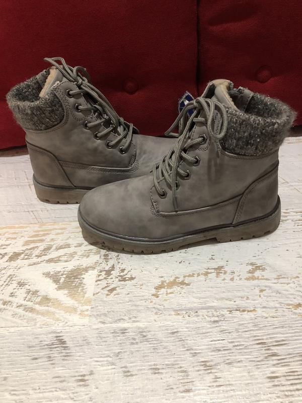 Ботинки зимние 25 см