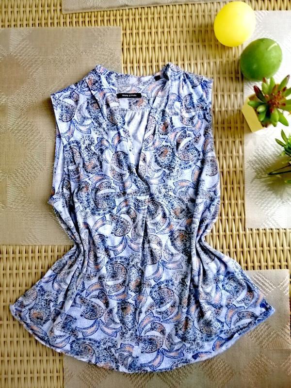 Хлопковая блуза marc o polo цветочный принт
