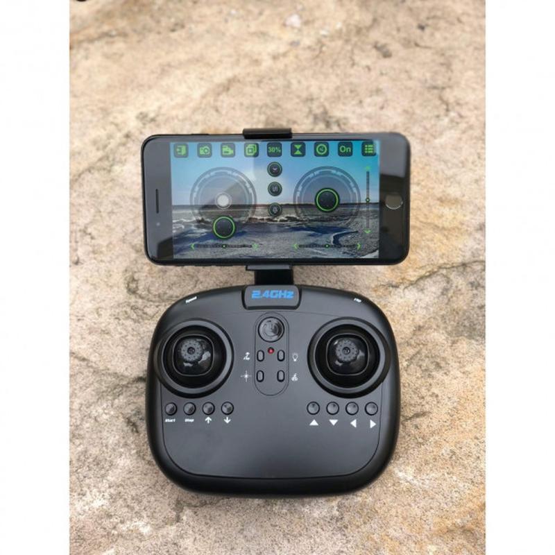 Складной квадрокоптер 8807 c WiFi HD камерой - Фото 3
