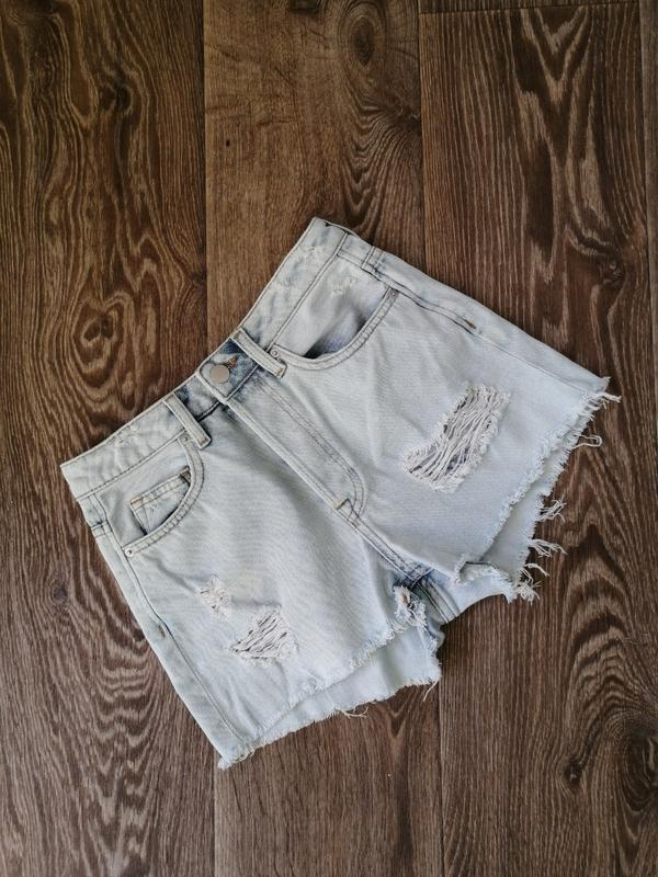 Джинсові шорти h&m джинсовые шорты рваные шортики