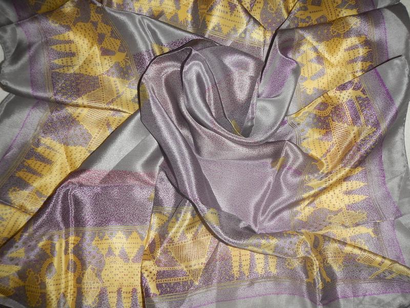 Шелковый платок echo япония