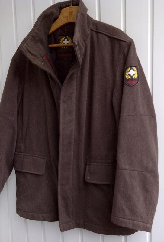 Куртка strellson swiss cross wool