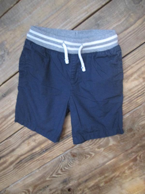 Котоновые шорты matalan на 2-3 года, 92-98 см  шорты чино трик...