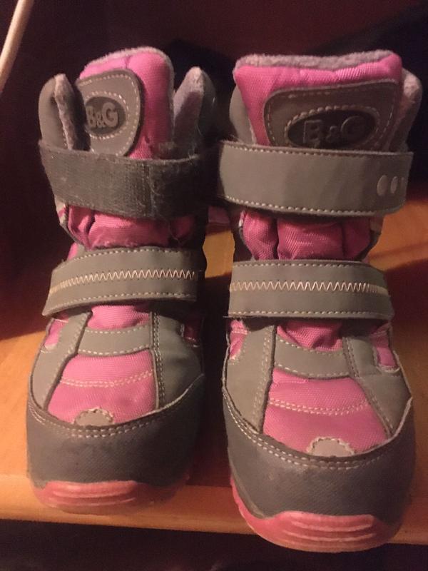 Термо ботинки на девочку