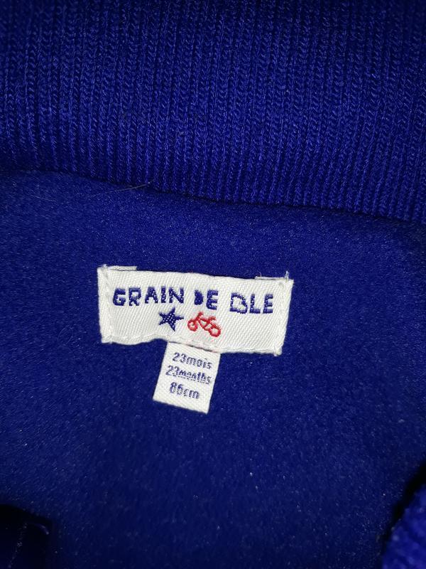 Супер яркая жилетка grain de ble на 1,5-2.0 года - Фото 5