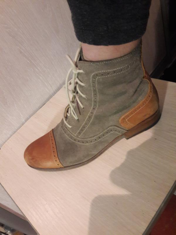 Стильные ботинки mentor