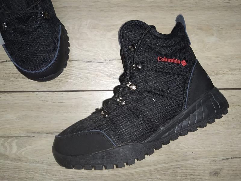 Теплые термо ботинки мужские columbia waterproof зима зимние