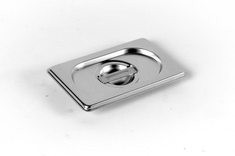Крышка стандартная Brillis 1/9 17,6х10,8 см нержавейка (301900)