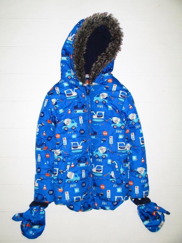 Зимняя курточка george на 3-4г