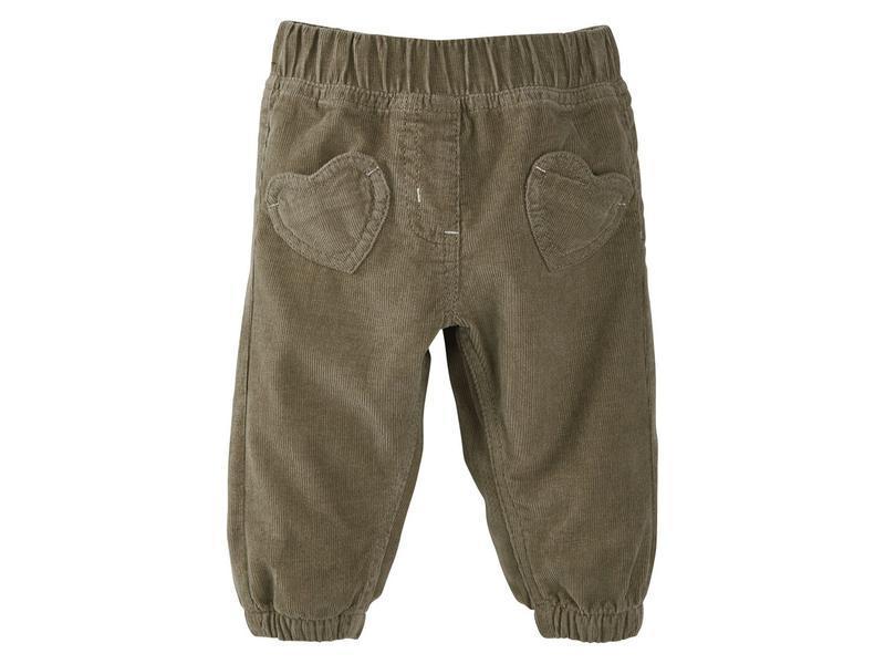 Вельветовые штаны lupilu для девочки