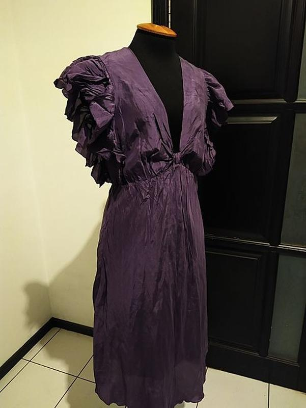Платье винтаж ретро италия хамелеон винтажное