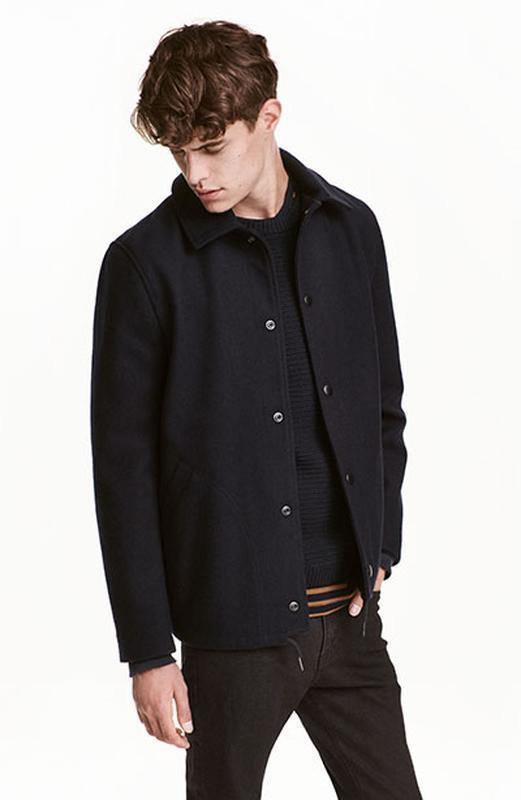 Куртка из смесовой шерсти h&m