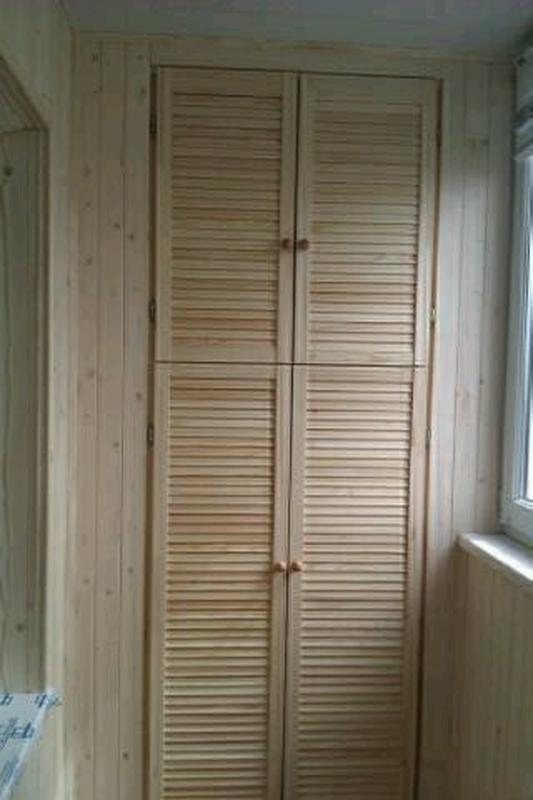 Обшивка балконов вагонкой. - Фото 2