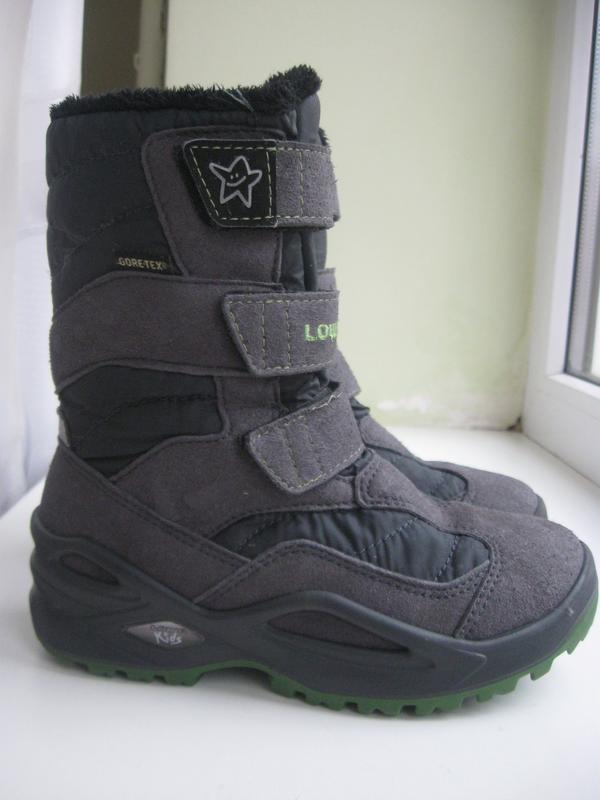 Зимние ботинки lowa goretex р.30