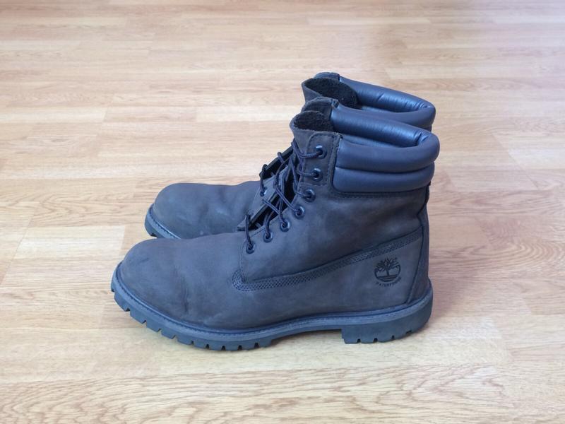 Кожаные ботинки timberland 45 размера в отличном состоянии