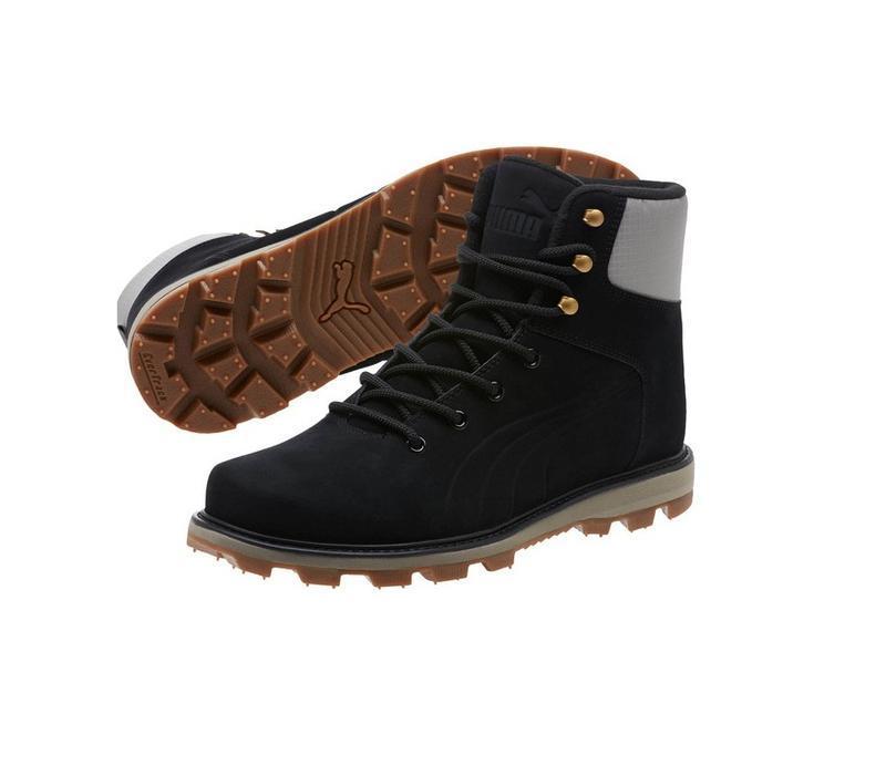 Зимние ботинки puma, премиум класса, натуральная кожа, нубук,о...